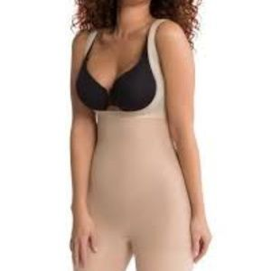 SPANX 5615 SHAPE MY DAY OPEN BUST MID THIGH